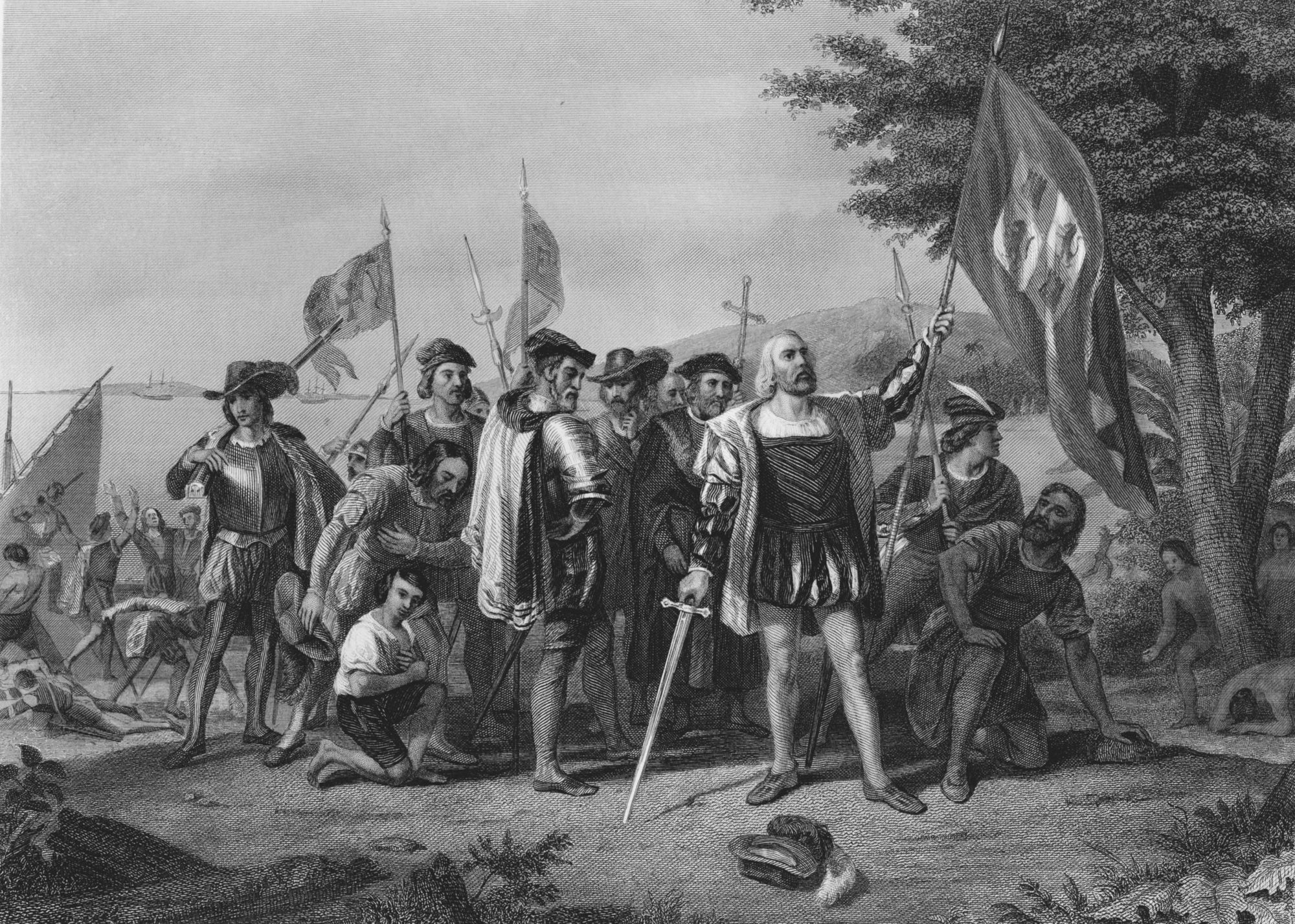 Europeans landing in the americas, The New World at the start of United States history
