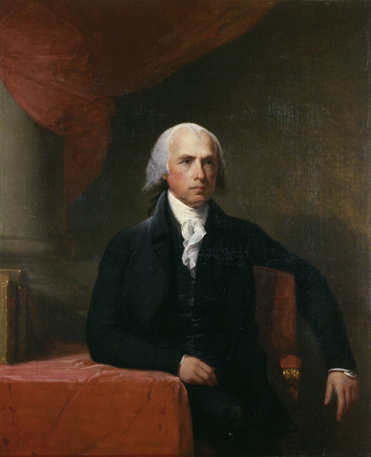 A portrait of James Madison